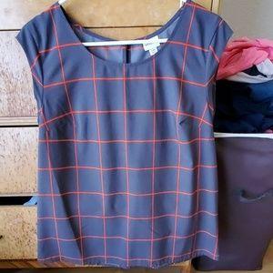 Merona grey shirt size large